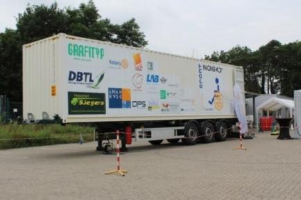 De container van Rotary Tessenderlo. FOTO: AF